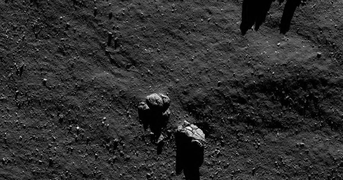 L'ultima sequenza scientifica di Rosetta