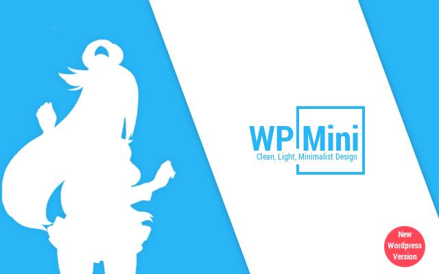 WP Mini - Template Material Design Blogger/Wordpress