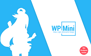 WP Mini - Template Material Design Blogger/Wordpress