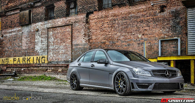 mercedes benz c 63 black rims