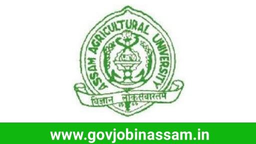 Assam Agricultural University Recruitment 2018