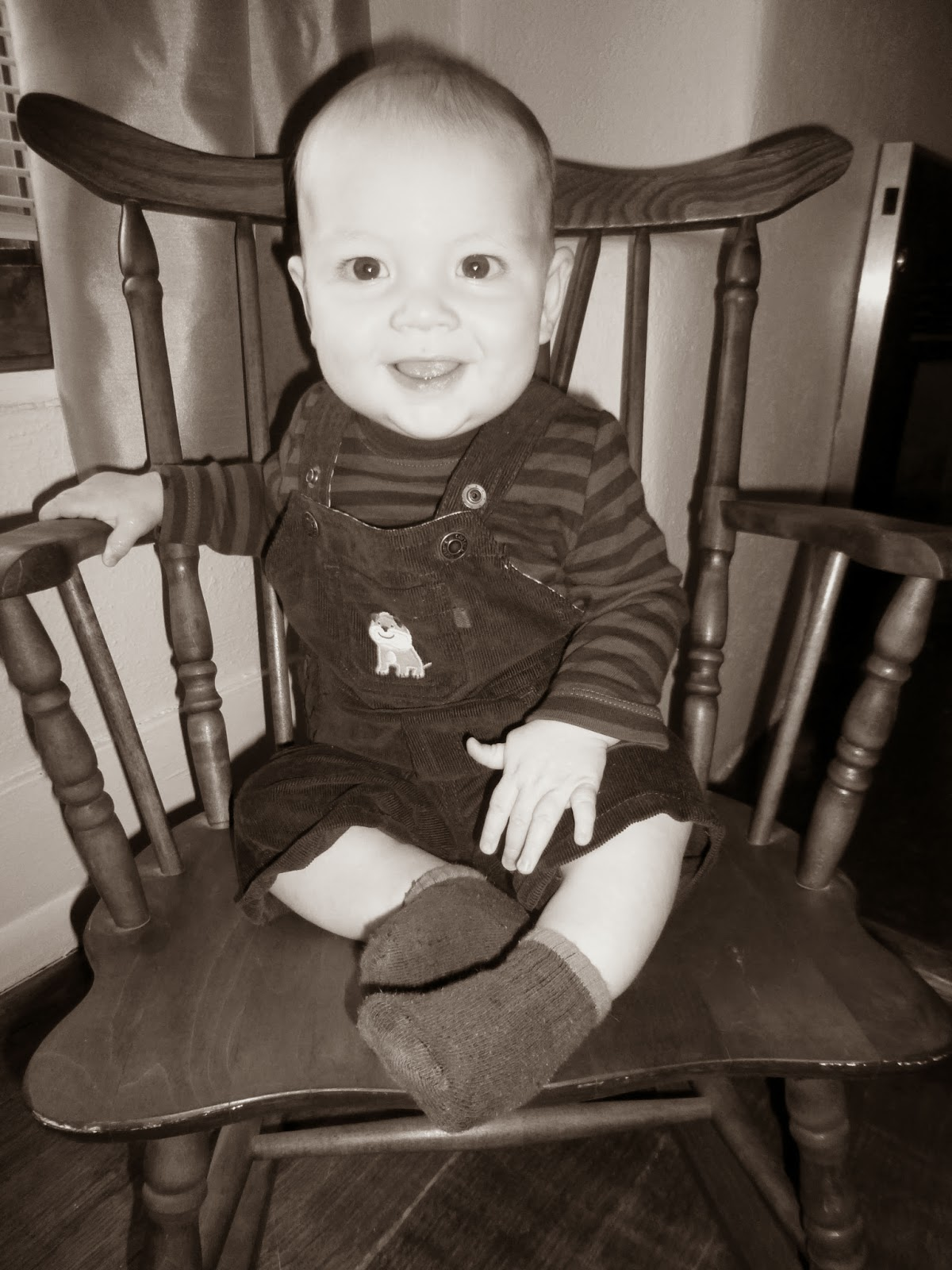 Howdy Doody Rocking Chair Office Recliner Living For Jesus 7 Months Old