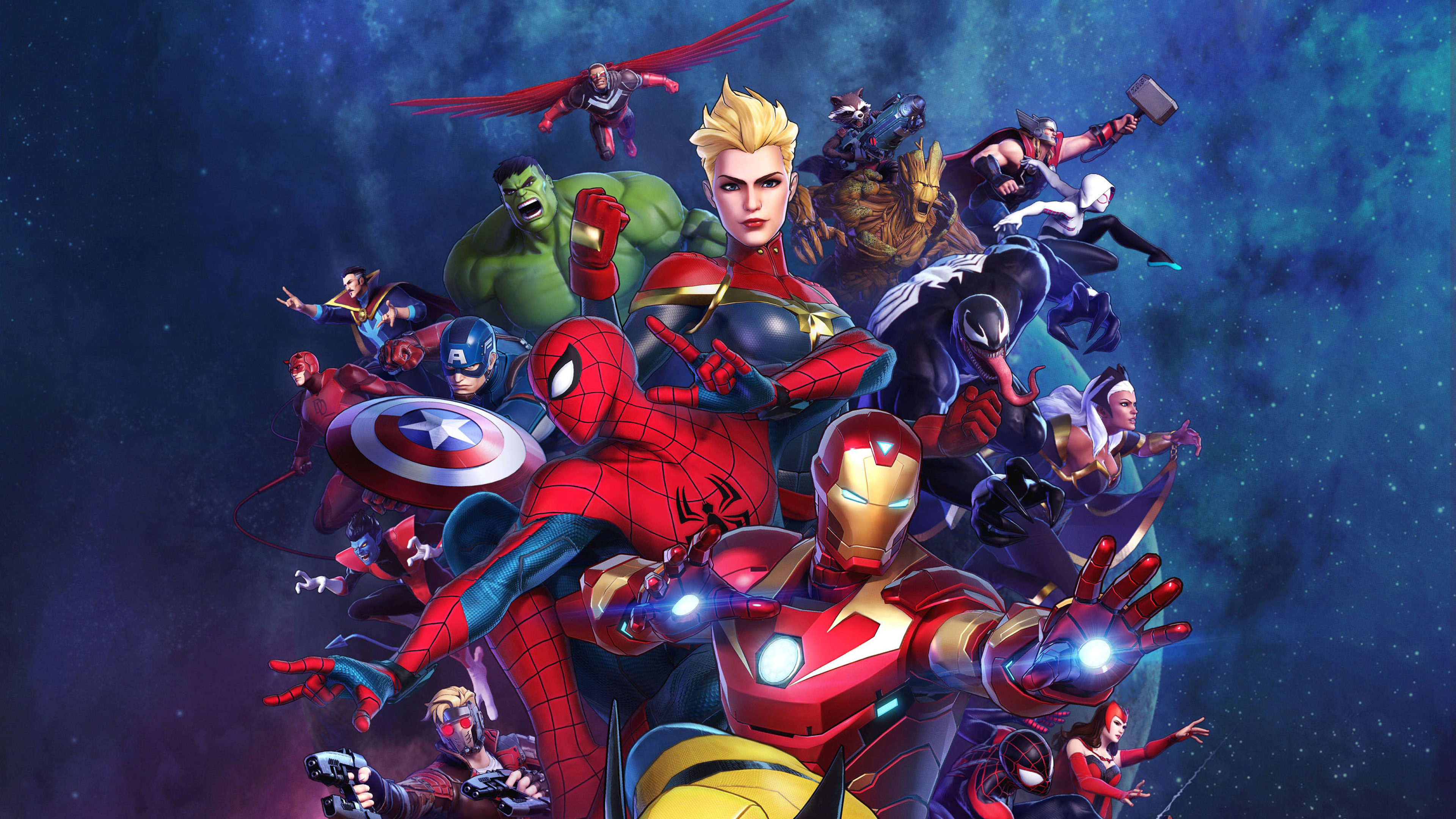 Marvel Ultimate Alliance 3 Characters 4k Wallpaper 46
