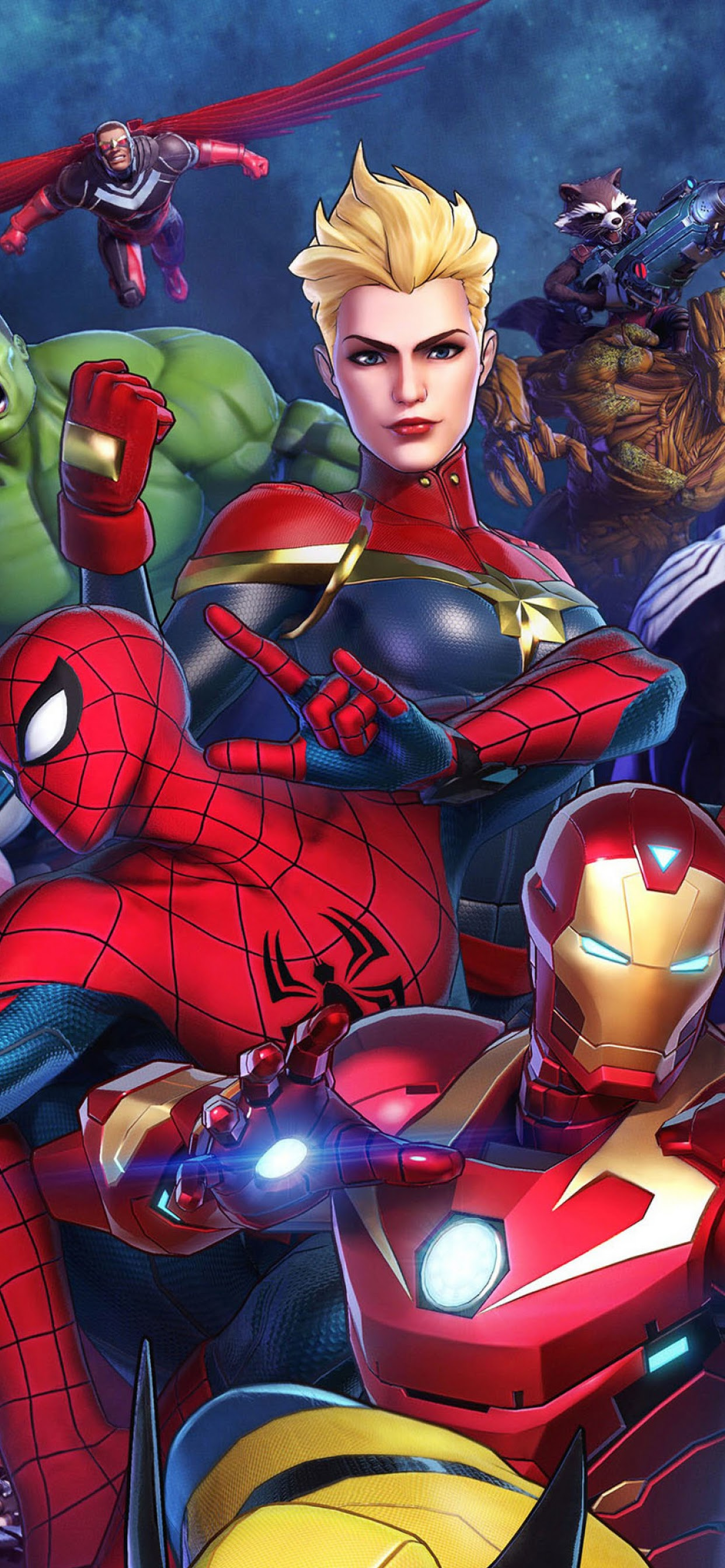 Marvel Ultimate Alliance 3 Characters 4k Wallpaper 46