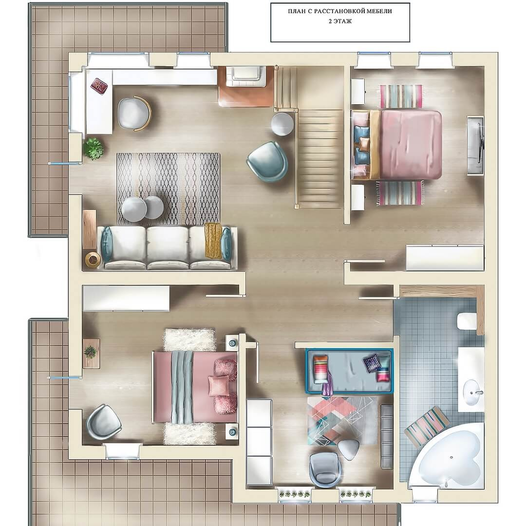 08-Furniture-layout-Plan-Julia-Timireeva-Юлия-Тимиреева-Interior-Design-Drawings-that-Help-Visualise-www-designstack-co