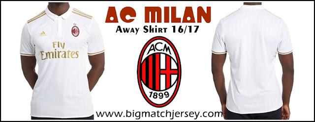 Adidas AC Milan 2016-17 Away Shirt