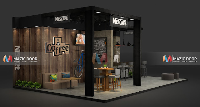 Mazicdoor Coffee Shop Stall Design 2