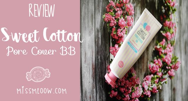 Sweet Cotton Pore Cover BB: Reseña.