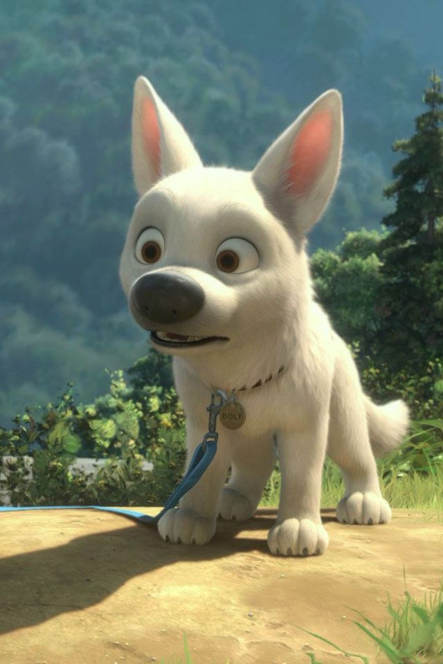 Animated Film Reviews Bolt 2008 Heartwarming Tale Of A Seriously Deluded Dog