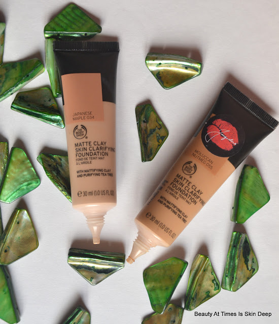 The Body Shop Matte Clay Clarifying Foundation
