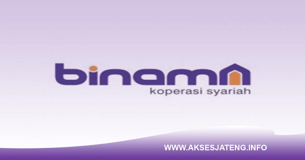 Lowongan Binama Koperasi Syariah Semarang Januari 2018