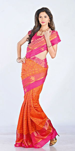 Kewtified Saree Fashion 2012 Latest Collection: Kewtified: Latest Kanchi Pattu Sarees Trends For Wedding