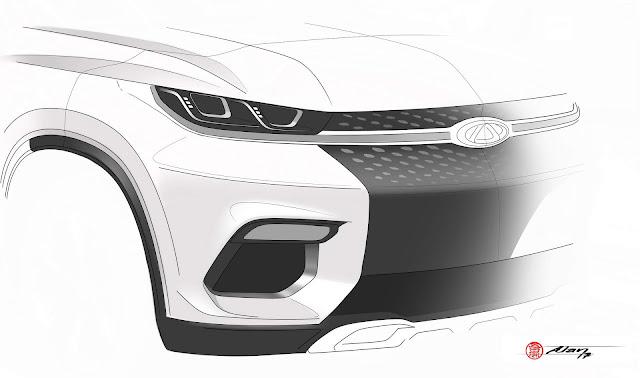 Novo Chery SUV