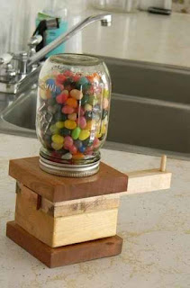 Make A DIY Jelly Beans Dispenser