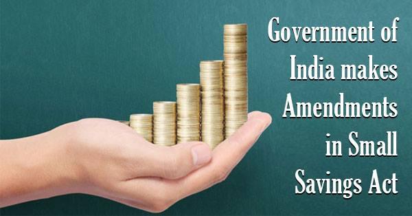 Small-Savings-Act