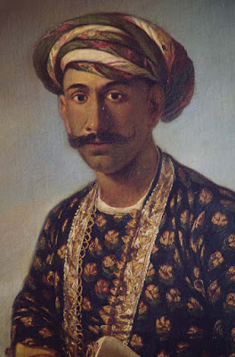 Close-up of Tipu Sultan