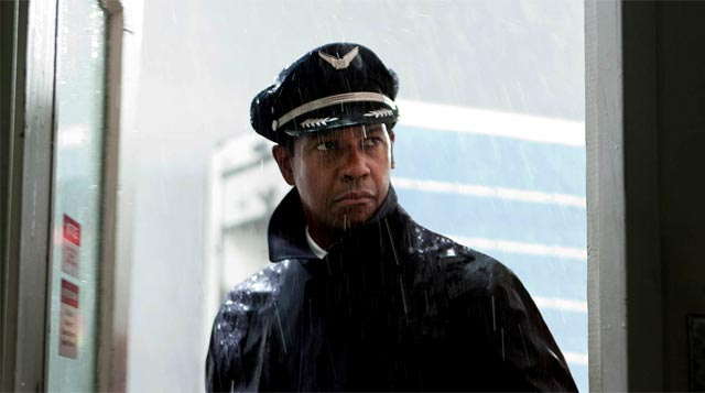 Denzel Washington en El Vuelo