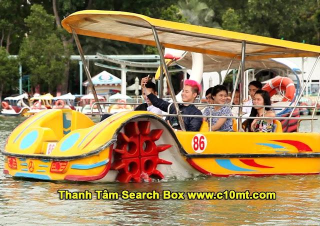 công viên văn hóa Đầm Sen Quận 11 TPHCM