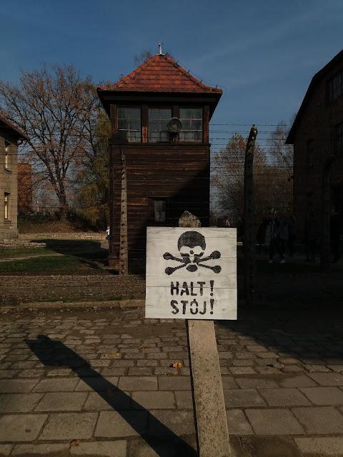 Krakova toinen matkapäivä: Auschwitz-Birkenau