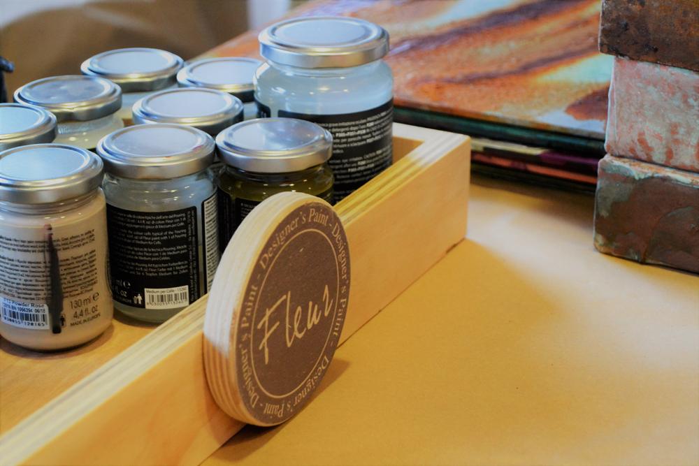 Fleur Paint, más que una marca de pintura, cronica de evento de embajadoras en Brescia