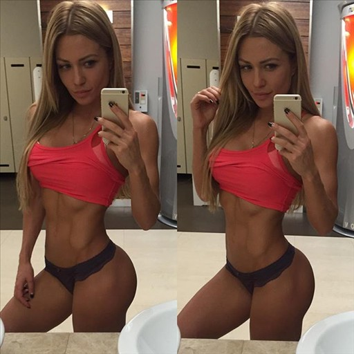 Russian Fitness Model Ekaterina Usmanova 03