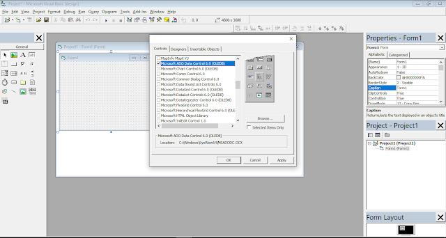 Mengkoneksi Database MySQL Ke Visual Basic 6.0