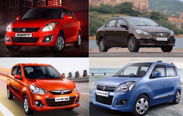 Diwali 2017 offers and discount on Maruti Suzuki Cars pics