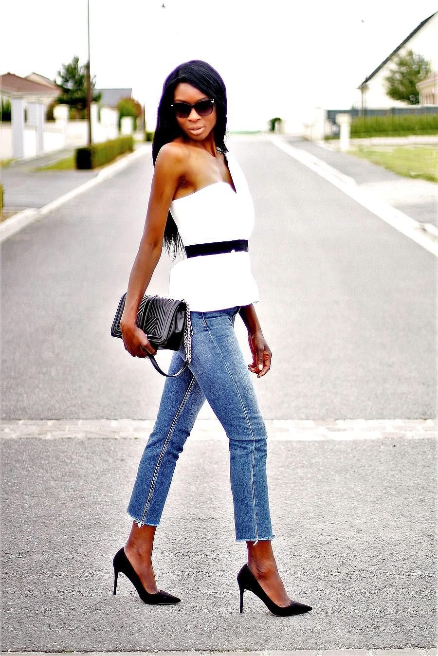 look-chic-tendance-blog-2017-jeans-taille-haute-blazer-blanc