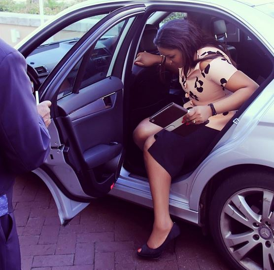 Omotola in South Africa
