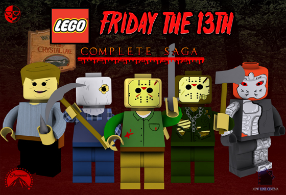 Friday the 13th  The Complete LEGO Saga   Friday The 13th  The Franchise If fans had a chance to vote for scenes to be created for limited edition  Lego sets  which of your favorite moments from the films should be chosen