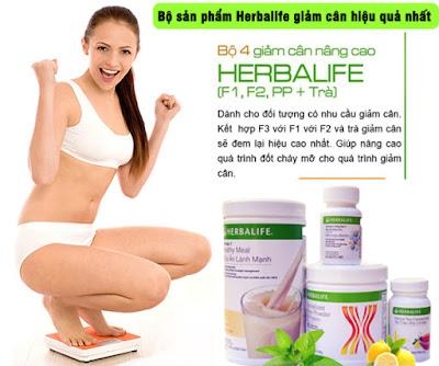 Cách sử dụng Herbalife để giảm cân khoa học
