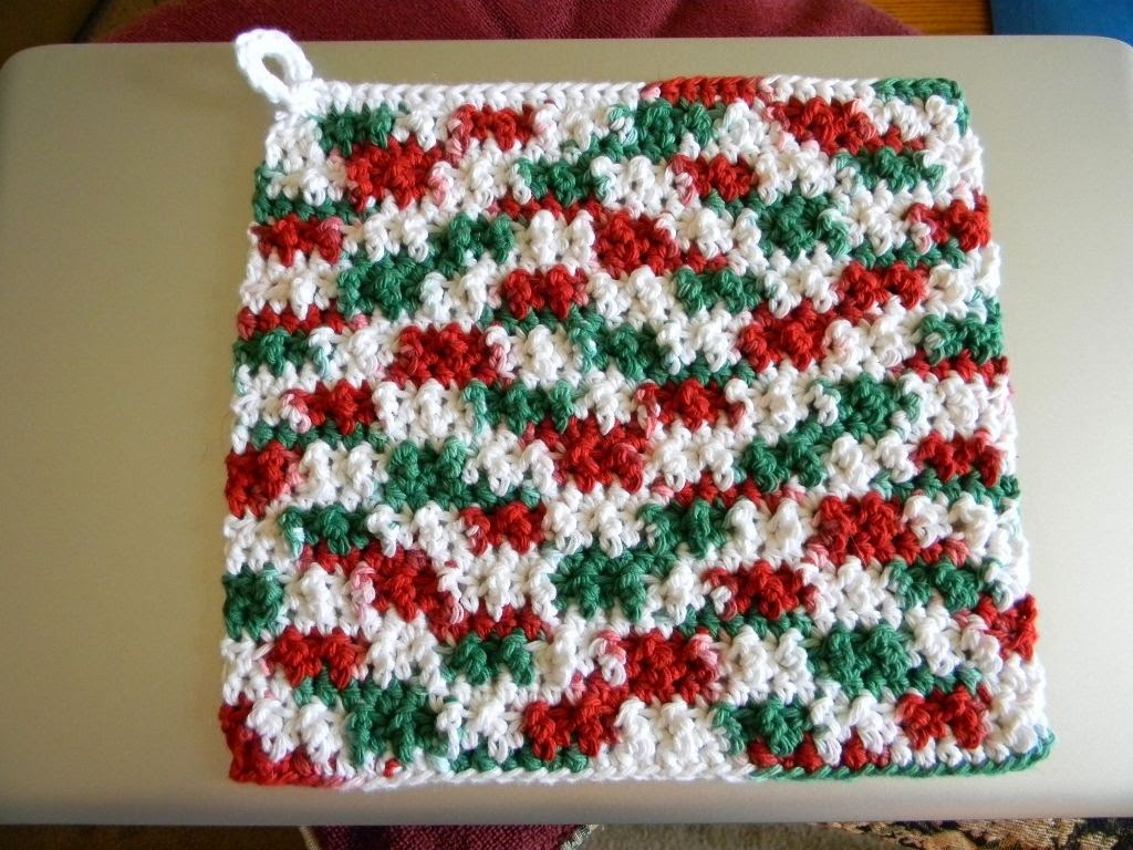 Free crochet pattern - Fast Easy Wash / Dish Cloth