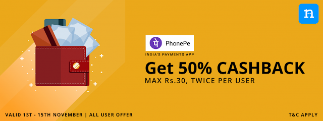 PhonePe Niki Offer – Get Rs.120 Recharge in Just Rs.60