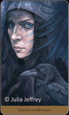 Tarot of the Hidden Realm  Eight of Wands