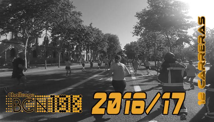 ChallengeBCN10K 2016/17 - 12 carreras