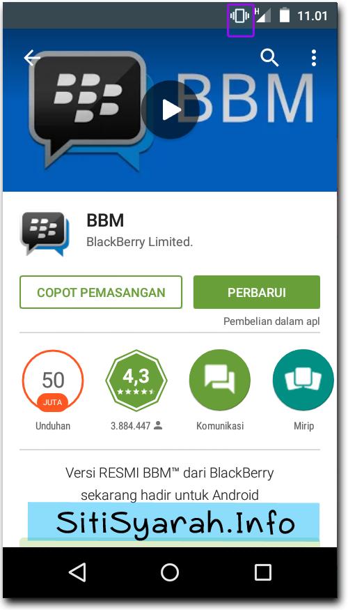 Cara ganti pin BBM Android