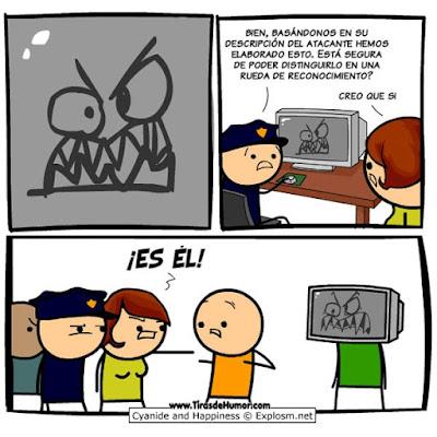 Meme de humor sobre novela negra