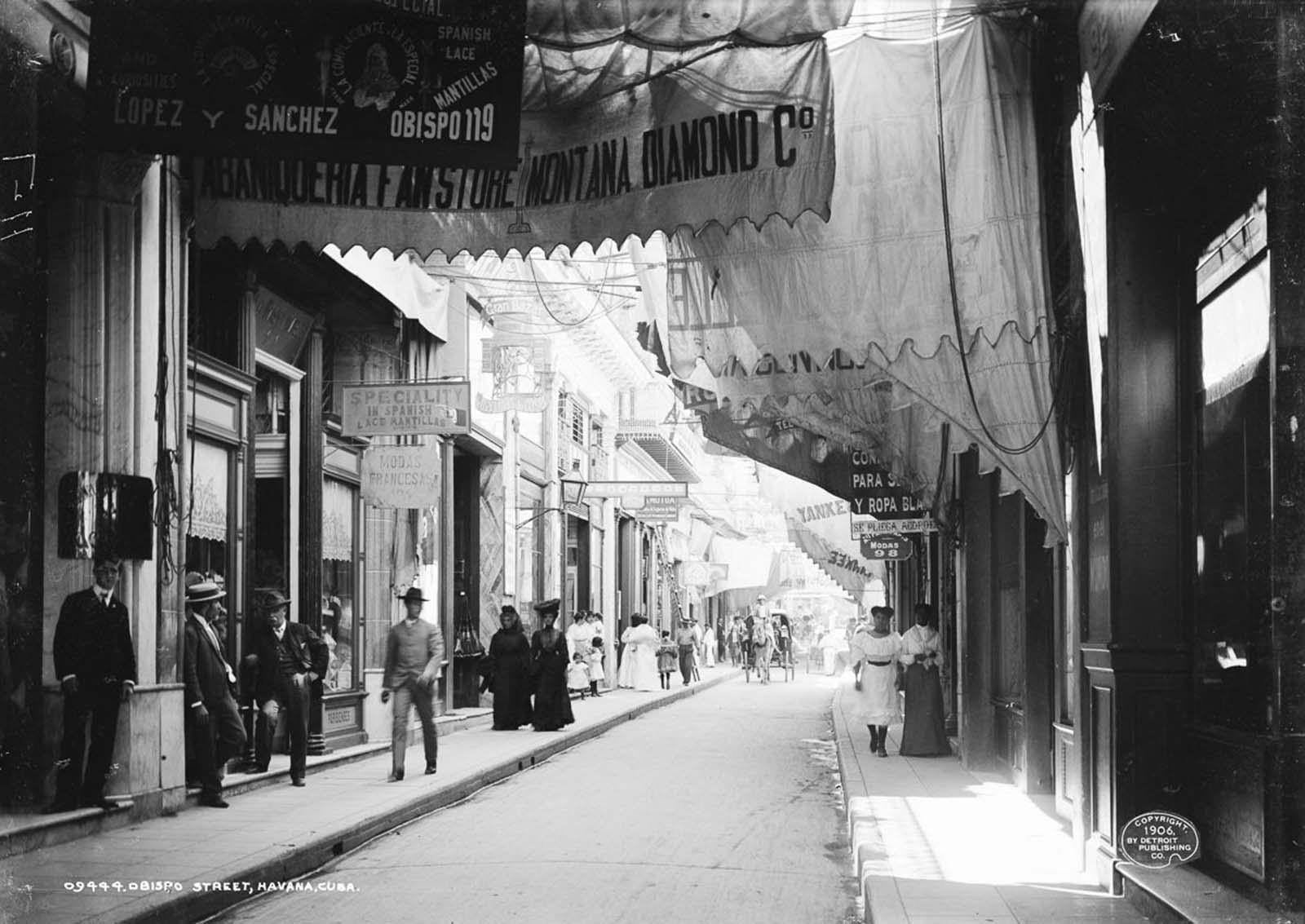 Obispo Street. 1906.