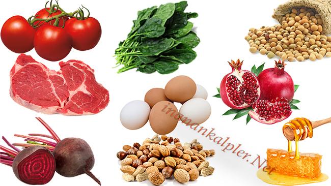 Anemi İle Mücadele İçin En İyi 10 Gıda -inananklapler.net