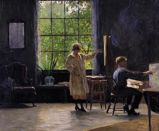 Daniel Garber Paintings