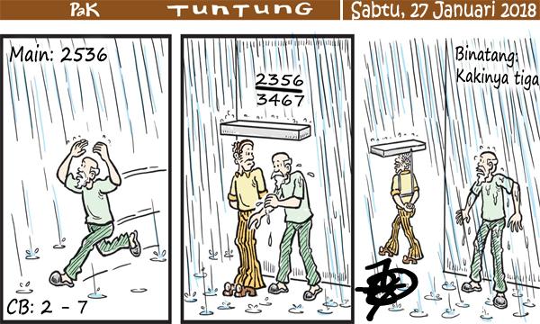 Prediksi Gambar Pak Tuntung Sabtu 27 01 2018
