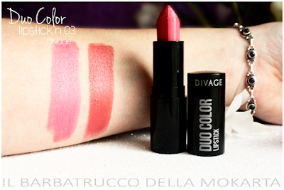 swatches n 02 DueColor Lipstick -  DIVAGE  - StayGlam Collection Spring/Summer 2016