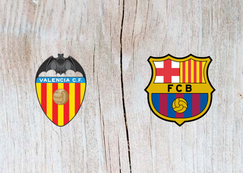Valencia vs Barcelona Full Match & Highlights 07 Oct 2018