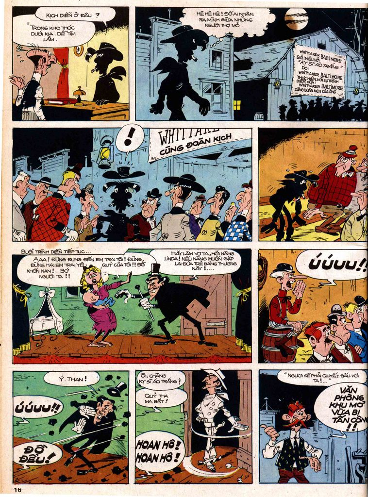 Lucky Luke tap 18 - ki si ao trang trang 14