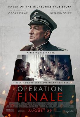 Operation Finale 2018 DVD R1 NTSC Latino