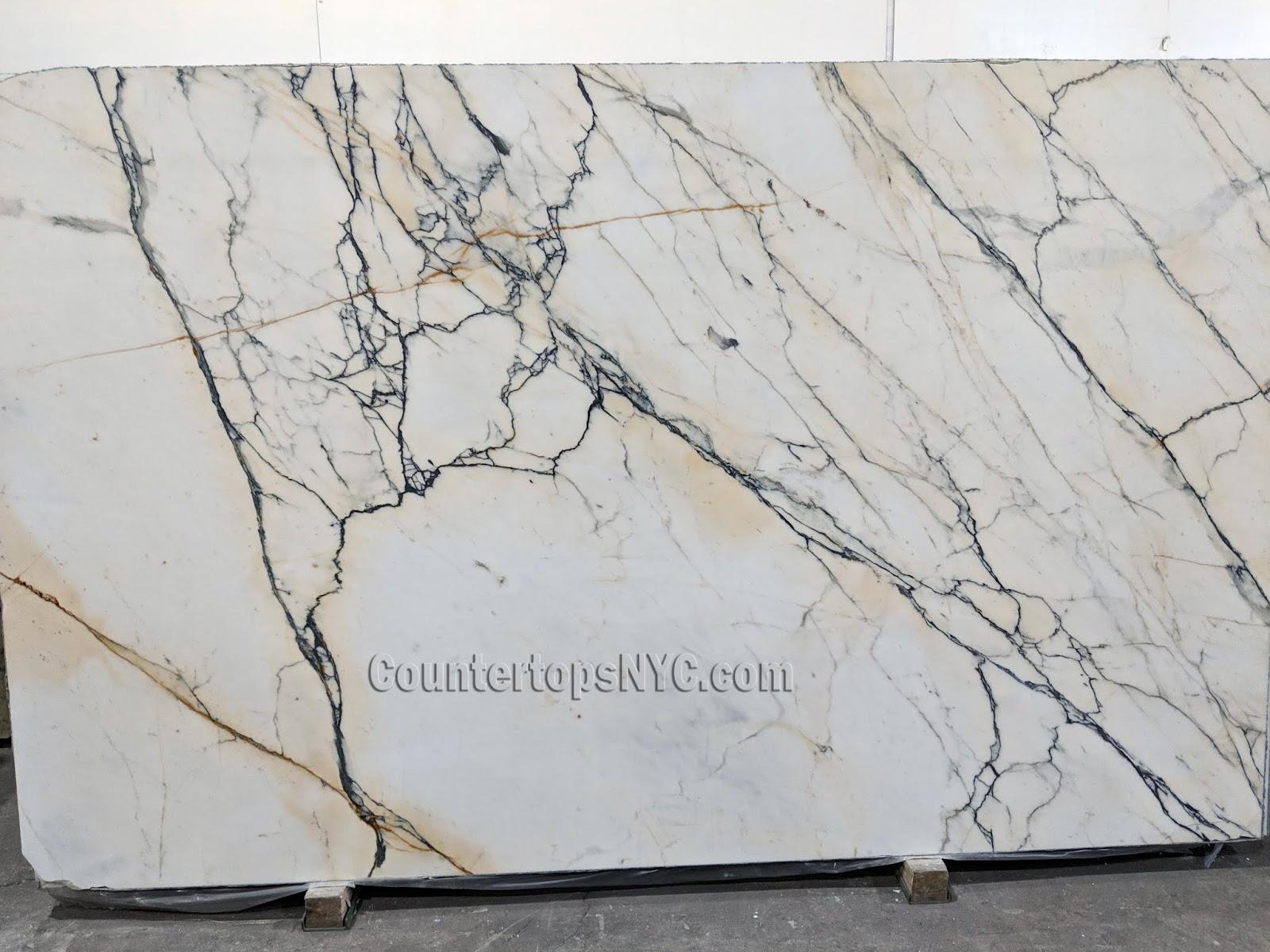 Calacatta Paonazzo White Marble NYC