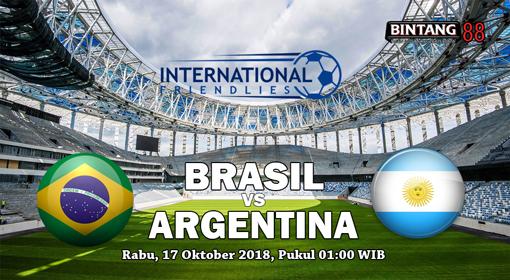 Prediksi Brasil vs Argentina 17 Oktober 2018