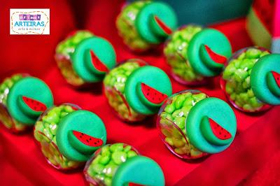 Resultado de imagem para decoração festa melancia