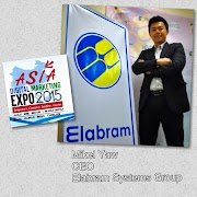 Elabram Systems Group CEO Mikel Yaw at Asia Digital Marketing Expo 2015 #AdMe