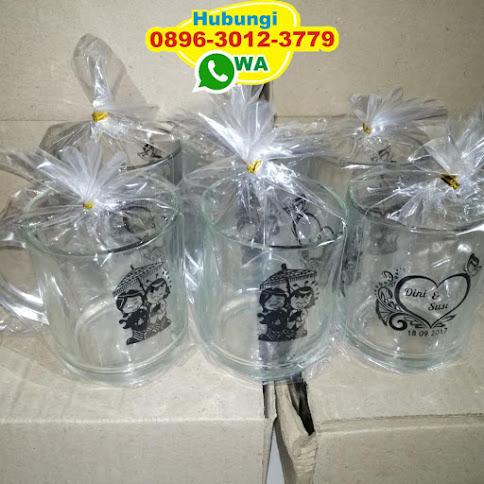 sablon gelas souvenir di surabaya 50431